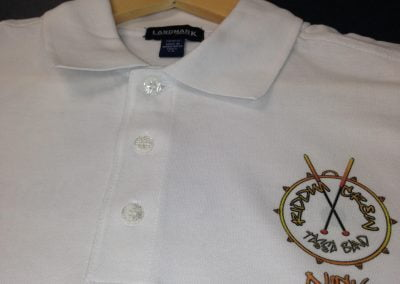 Mississauga Embroidery Gold Shirt