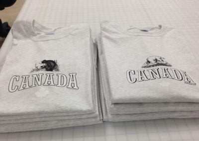 Canadian printed sweatapants